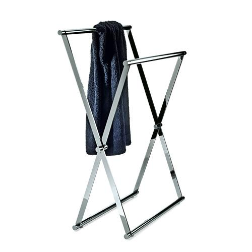 "Cross 2 Foldable Towel Stand, 37.4"" by Decor Walther"