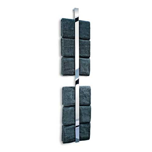 "Brick HL Wall-Mounted Vertical 62.2"" Towel Bar by Decor Walther"