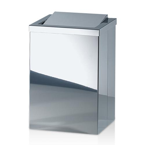 "DW 113 Waste Bin with Revolving Lid, 11.8"" by Decor Walther"
