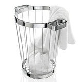 "DW 222 Towel Laundry Basket, 15.5"" by Decor Walther"