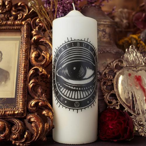 Mystical Eye Candle by Coreterno
