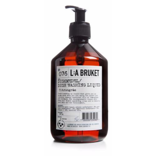 No. 076 Lemongrass/Rosemary Dishwashing Soap by L:A Bruket