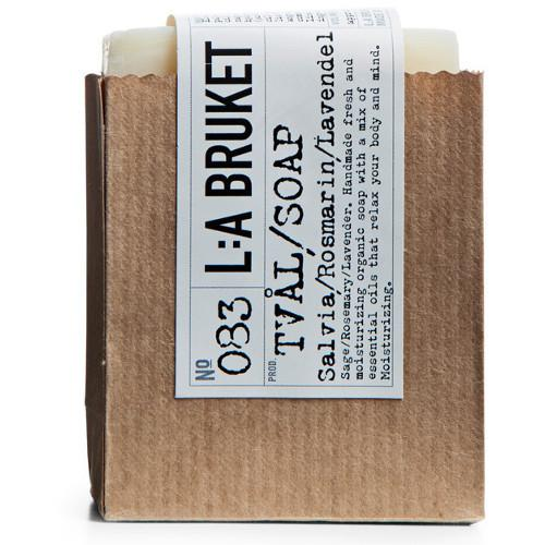 No. 083 Sage/Rosemary/Lavender Bar Soap by L:A Bruket