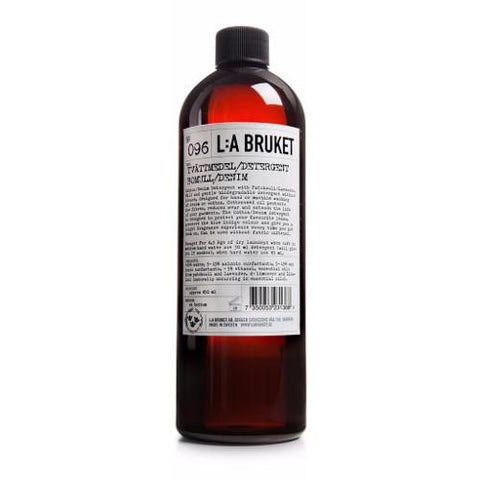 No. 096 Cotton/Denim Patchouli/Lavender Laundry Detergent by L:A Bruket