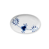 Blue Fluted Mega Oval Accent Dish by Royal Copenhagen