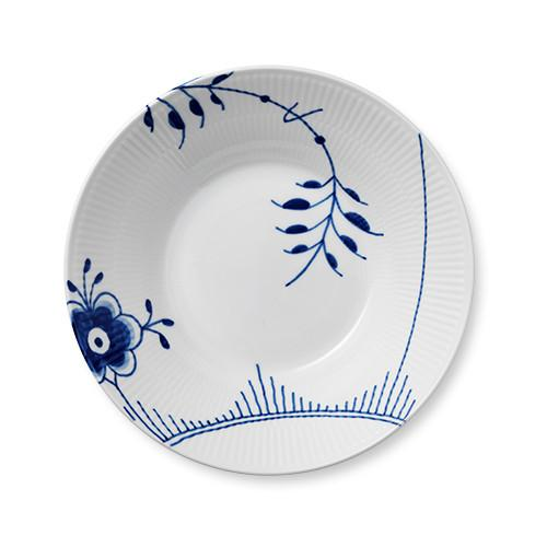 Blue Fluted Mega Pasta Bowl by Royal Copenhagen
