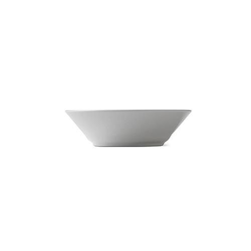 White Fluted Dessert Bowl by Royal Copenhagen