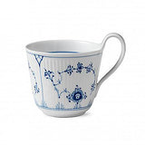 Blue Fluted Plain High Handled Mug by Royal Copenhagen