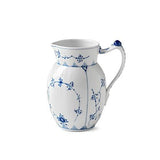 Blue Fluted Plain Jug by Royal Copenhagen