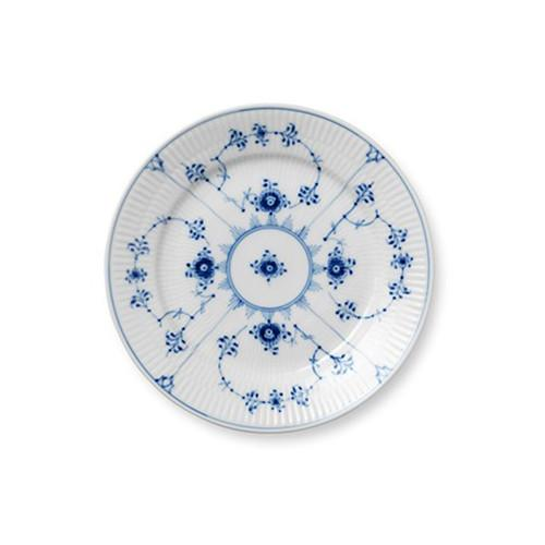 Blue Fluted Plain Dessert Plate by Royal Copenhagen