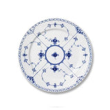 Blue Fluted Half Lace Dessert Plate by Royal Copenhagen