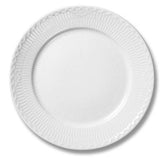 White Fluted Half Lace Dessert Plate by Royal Copenhagen