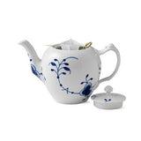 Blue Fluted Mega Teapot by Royal Copenhagen