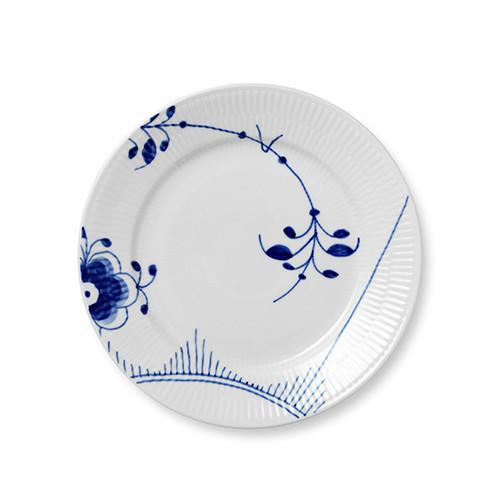 Blue Fluted Mega Salad Plate by Royal Copenhagen