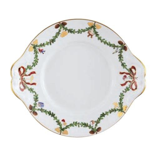 "Star Fluted Christmas Dish, 10.75"" by Royal Copenhagen"