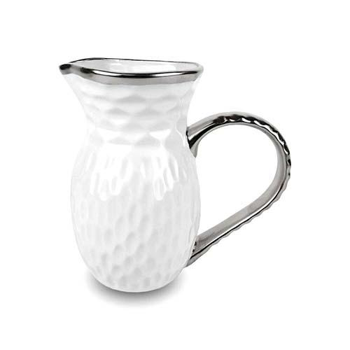 "Truro Giftware Platinum Pitcher, 8.25"" by Michael Wainwright"