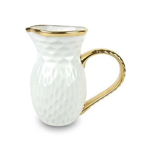 "Truro Giftware Gold Pitcher, 8.25"" by Michael Wainwright"