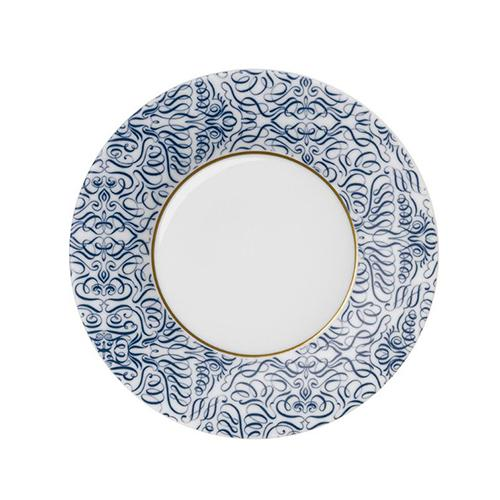 "Alif Bread and Butter Plate, 7.1"" by Hering Berlin"