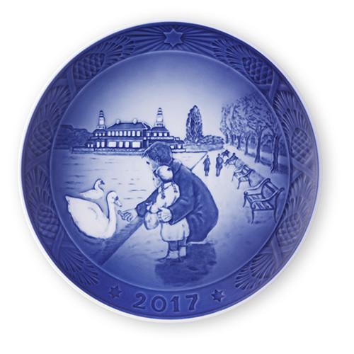 2017 Royal Copenhagen Annual Plate