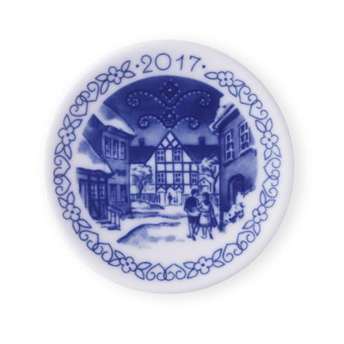 2017 Christmas Royal Copenhagen Plaquette