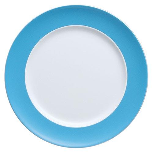 Sunny Day Dinner Plate, Waterblue by Thomas and Rosenthal
