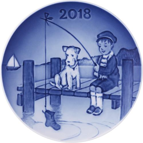 2018 Children's Day Plate by Bing & Grondahl