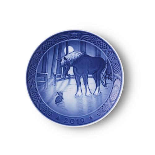 2019 Christmas Plate by Royal Copenhagen