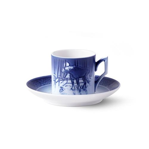 2019 Christmas Cup and Saucer by Royal Copenhagen