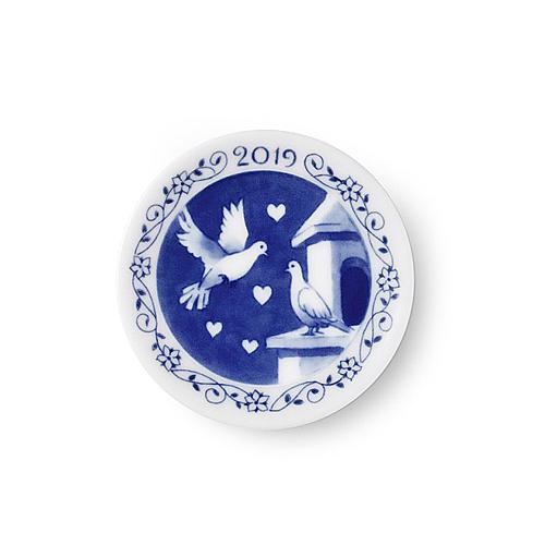 2019 Christmas Plaquette by Royal Copenhagen