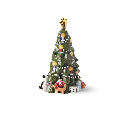 2019 Annual Christmas Tree Figurine by Royal Copenhagen
