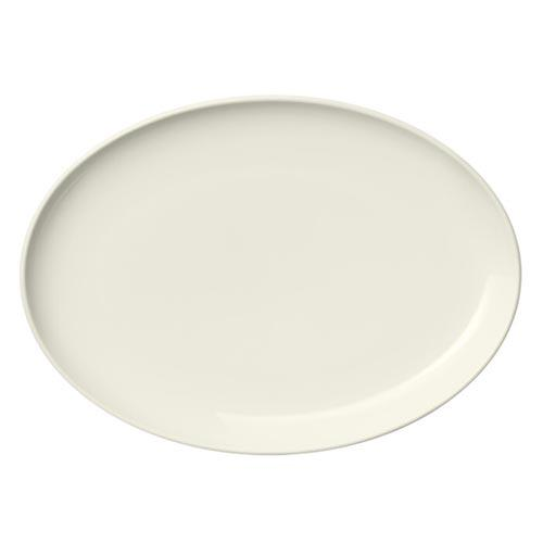 "Essence Oval Plate, 10"" by Alfredo Haeberli for Iittala"