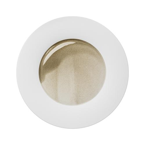 "Silent Brass Dinner Plate, 11.4"" by Hering Berlin"