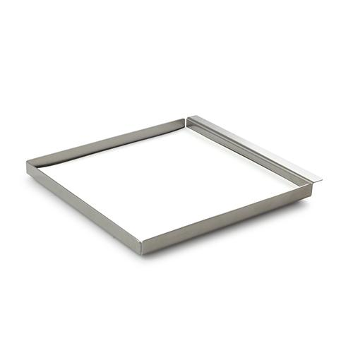 XS Tablett Square Stainless Steel 6