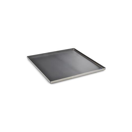 "Tablett Square Stainless Steel 9"" Dinner Tray by Mono Germany"