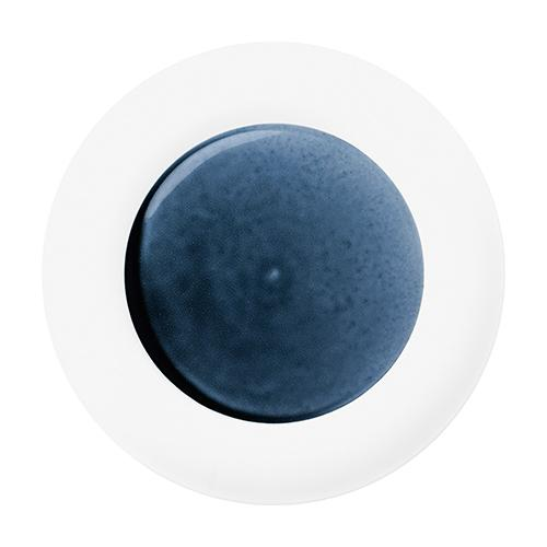 "Blue Silent Charger Plate, 12.6"" by Hering Berlin"