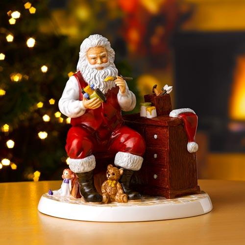 2020 Annual Santa of the Year: Santa's Workshop by Royal Doulton