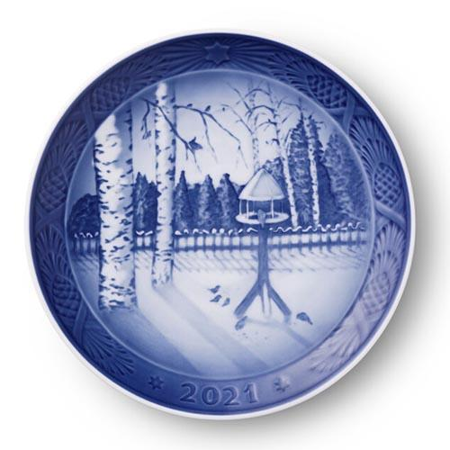 2021 Christmas Plate by Royal Copenhagen