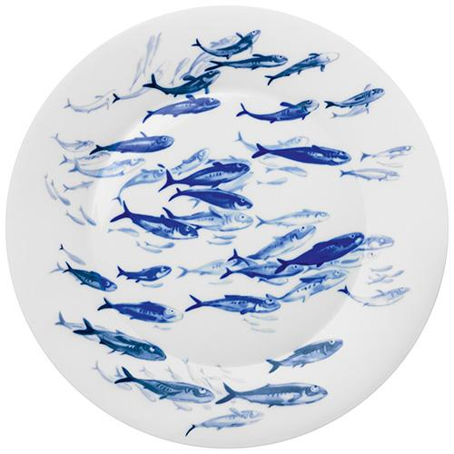 "Ocean Charger, Herring, 14.6"" by Hering Berlin"