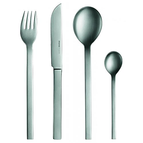mono-a 5 Piece Four Placesettings with Long-bladed Knife by Mono Germany