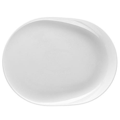ONO Oval Plate w/One High Side by Thomas