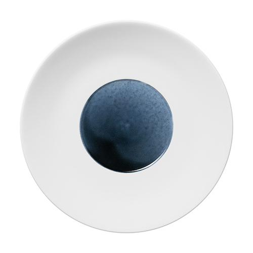 "Blue Silent Coupe Plate, 12.2"" by Hering Berlin"