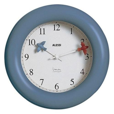 Kitchen Wall Clock by Michael Graves for Alessi