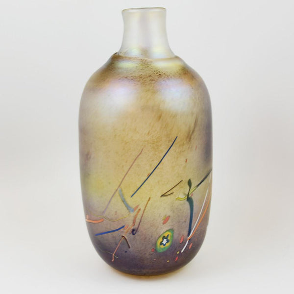 Tornado Vase by Bertil Vallien for Boda Glassworks