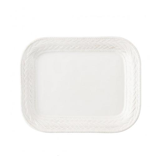 "Le Panier Whitewash 11.5"" Platter by Juliska"