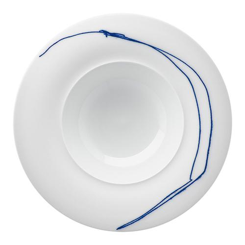 "Granat Deep Plate, 9.8"" by Hering Berlin"