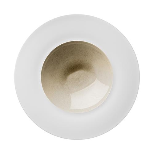 "Silent Brass Pasta Plate, 11.8"" by Hering Berlin"