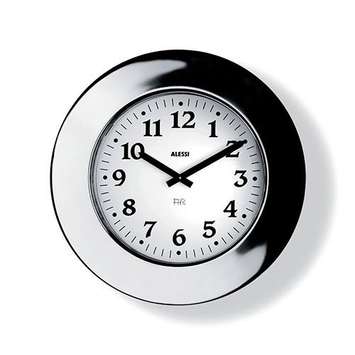 Momento Wall Clock by Aldo Rossi for Alessi