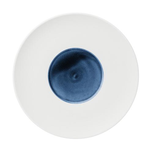 "Blue Silent Coupe Plate, 10.2"" by Hering Berlin"