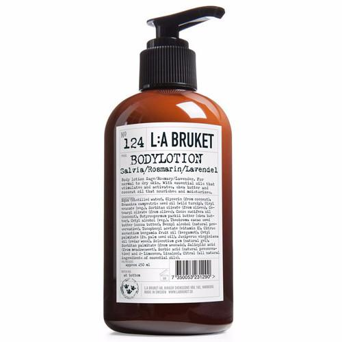 No. 124 Sage/Rosemary/Lavender Body Lotion by L:A Bruket