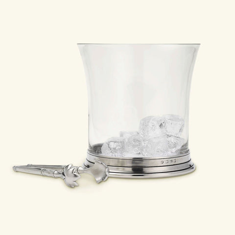 Crystal Ice Bucket by Match Pewter